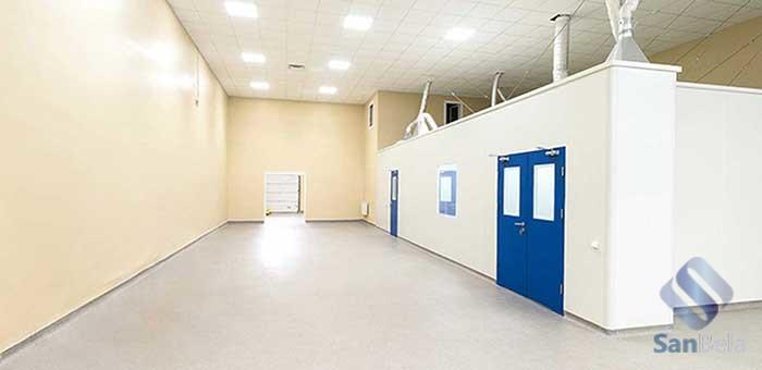 Чистые помещения - Интеграфарм
