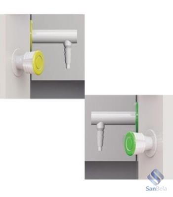 Дистанционное управление кранами подачи воды и газа.