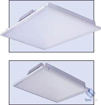 Монтаж светильников для чистых помещений