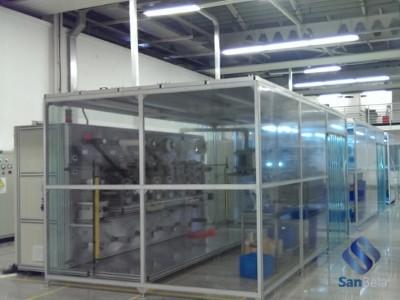 Модульная секция чистых помещений
