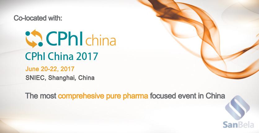 SanBela на фармацевтической выставке CPhI China 2017