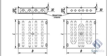 Технические особенности растровых светильников для чистых помещений