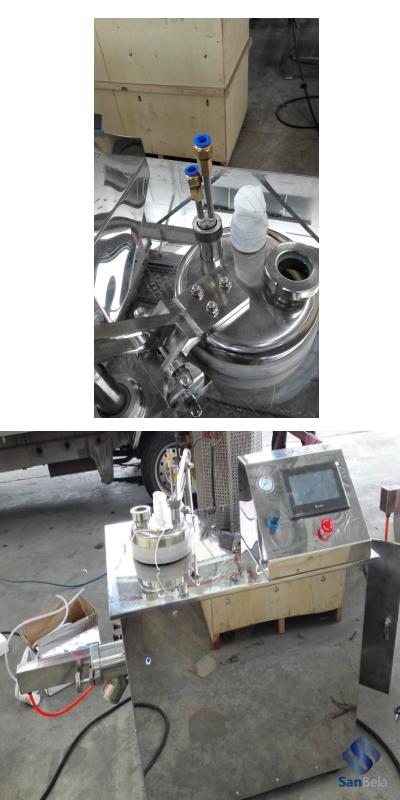 смеситель-гранулятор